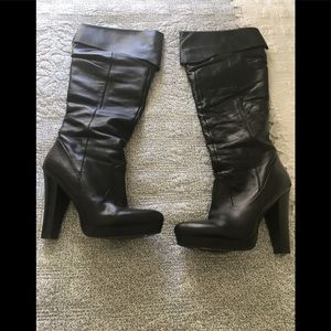 Jessica Simpson scrunch boots.